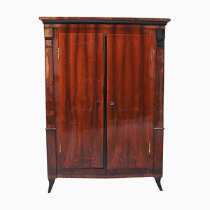 Antique Biedermeier Armoire, 1820s