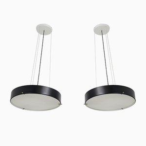 Model 1090 Pendants by Bruno Gatta for Stilnovo, 1954, Set of 2