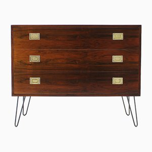 Mid-Century Danish Iron and Palisander Dresser, 1960s
