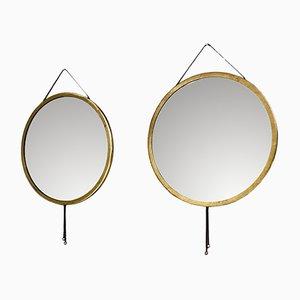 Miroirs Viper par Corrado Corradi dell'Acqua pour Azucena, Italie, 1960s, Set de 2