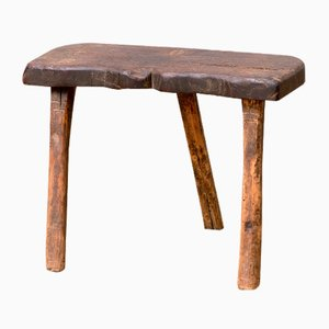 19th-Century Milking Stool