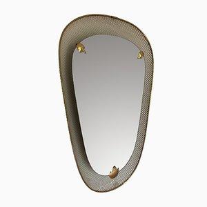 Specchio di Mathieu Matégot per Artimeta, anni '50