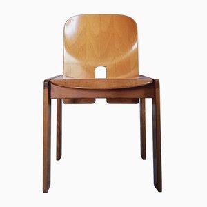 121 Esszimmerstühle von Tobia & Afra Scarpa für Cassina, 1968, 4er Set