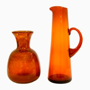 Set aus Vase & Kanne von Erik Höglund, 1960er