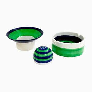 Piezas de cerámica Piggelin de Marianne Westman para Rörstrand, años 50. Juego de 3