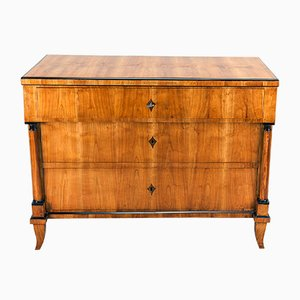Antique German Biedermeier Cherry Dresser