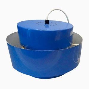 Blue Juno Pendant Lamp by Johannes Hammerborg for Fog & Mørup, 1960s
