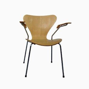 Chaise 3207 par Arne Jacobsen pour Fritz Hansen, Danemark, 1991
