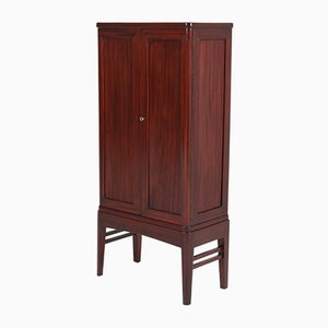 Art Deco French Mahogany Cabinet, 1930s
