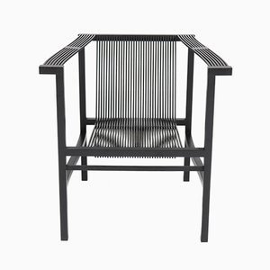 Slatted Beech Armchair by Ruud-Jan Kokke for Metaform, 1984