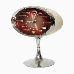 Reloj despertador japonés era espacial de Rhythm, años 70