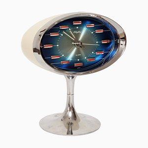 Space Age Japanese Alarm Clock from Rhythm, 1970s