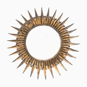 Golden Iron Sun Mirror, 1950s
