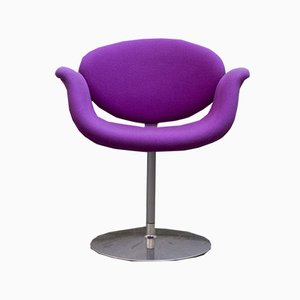 Fuschia Little Tulip Lounge Chair by Pierre Paulin for Artifort, 1970s