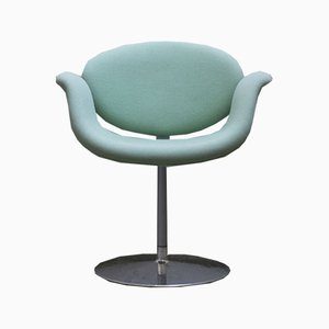 Cyan Little Tulip Lounge Chair, 1970s