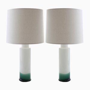 Moderne Tischlampen im skandinavischen Stil von Uno & Östen Kristiansson für Luxus, 1968, 2er Set