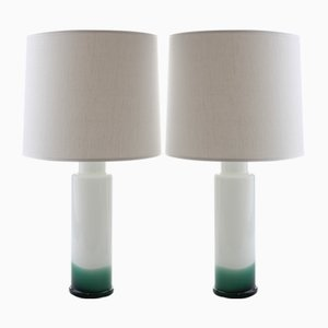 Scandinavian Modern Table Lamps by Uno & Östen Kristiansson for Luxus, 1968, Set of 2