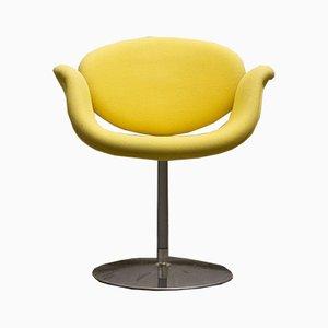 Gelber Little Tulip Armlehnstuhl von Pierre Paulin für Artifort, 1970er