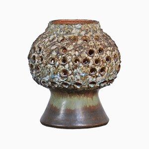 Lámpara de mesa de cerámica de Bruno Karlson para Ego, años 60