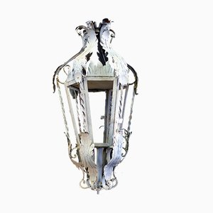 Italian Iron and Wrought Iron Sconces, 1950s, Set of 2