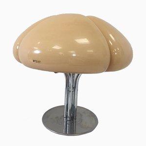 Lampada da tavolo Mid-Century moderna a forma di trifoglio di Gae Aulenti per Guzzini, anni '70
