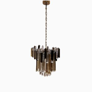 Italian Crystal Chandelier by Paolo Venini, 1960s