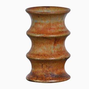 Vaso in ceramica di Bruno Karlson per Ego, anni '60