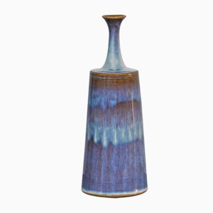 Swedish Ceramic Vase by R. Pettersson, 1983