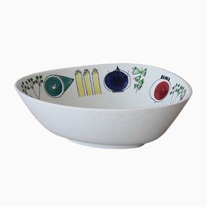 Mid-Century Picknickschale aus Keramik von Marianne Westmann für Rörstrand