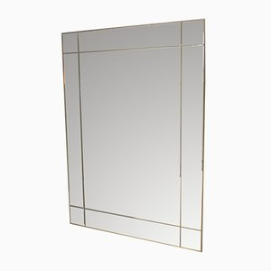 Vintage Rectangular Mirror, 1970s