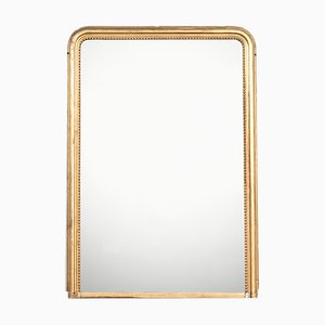 Antique Louis Philippe Gilt Wood Mirror