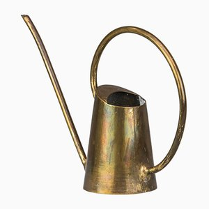 Art Deco Austrian Brass Watering Can, 1920s