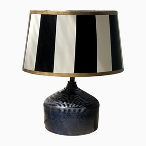 Small Vintage Ceramic Table Lamp from Klase Keramik, 1960s