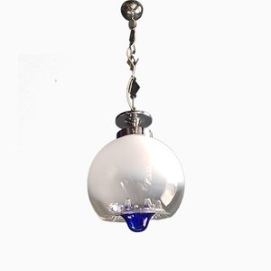 Space Age Pendant Chandelier, 1970s