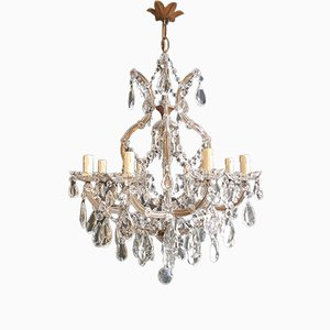 Crystal Chandelier, 1940s