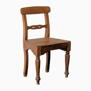 Vintage Indian Wooden Chair
