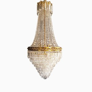 Antique Vienna Crystal Chandelier
