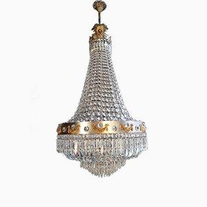 Lámpara de araña Montgolfier imperio, años 30