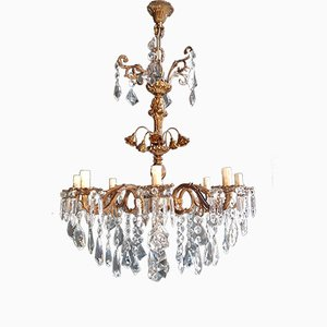 Crystal Chandelier, 1950s
