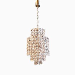 Lámpara de araña Art Déco, años 50
