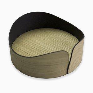 Kleiner Nelumbo Behälter von Andrea Gregoris für Lignis