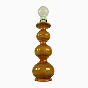 Modell 8730 Tischlampe aus Keramik von Kaiser Leuchten, 1970er