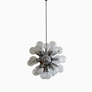 Sputnik Hand-Blown Glass Chandelier by J. T. Kalmar for Kalmar, 1960s