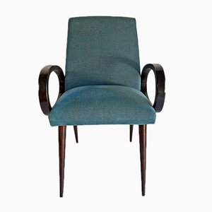 Mid-Century Compressed Wood Armchair, 1960s