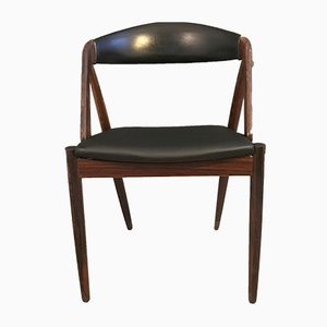 Danish Rosewood Model 31 Dining Chair by Kai Kristiansen for Schou Andersen, 1960s