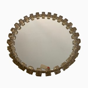 Mid-Century German Crystal & Resin Mirror