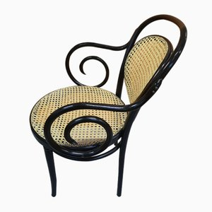 Beech Lounge Chair by Michael Thonet, 1920s