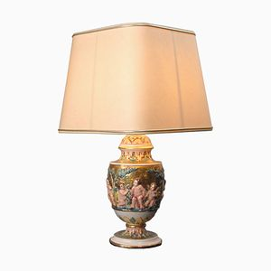 Ceramic Lamp from Saca Castelli, 1930s