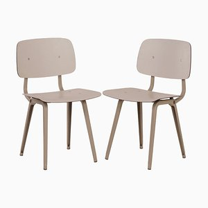 Revolt Chairs by Friso Kramer for Ahrend De Cirkel, 1960s, Set of 2