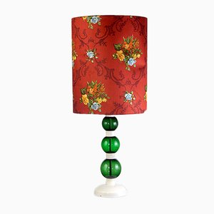 German Flower Power Table Lamp, 1970s